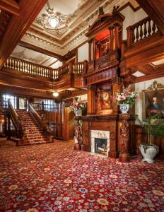 grand hall of the Turnblad mansion