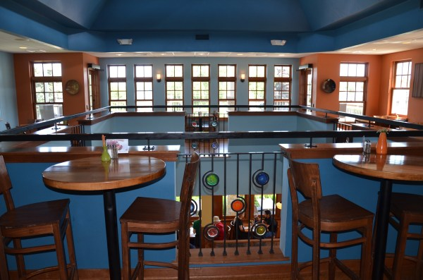 Second floor dining.