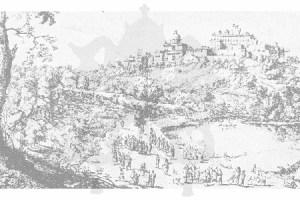 Print of Castel Gandolfo