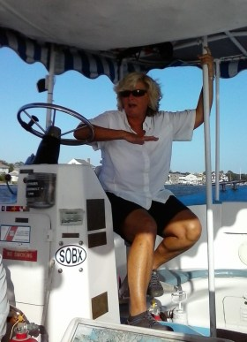 Captain Peggy of Water Bug Tours