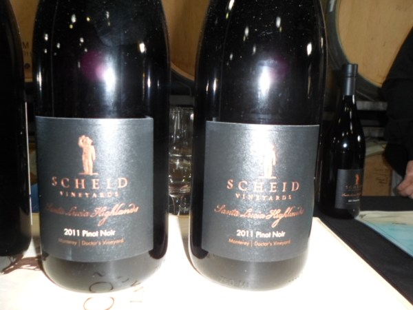 2011 Scheid Vineyards Pinot Reserve