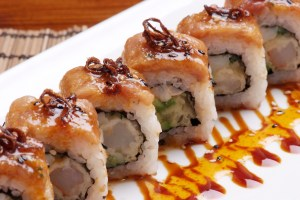 "Salerno roll at ""Me Geisha"""