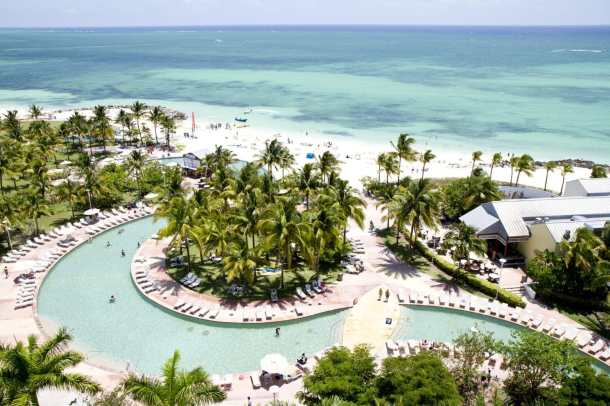 Aerial View of Grand Lucayan Resort, Bahamas