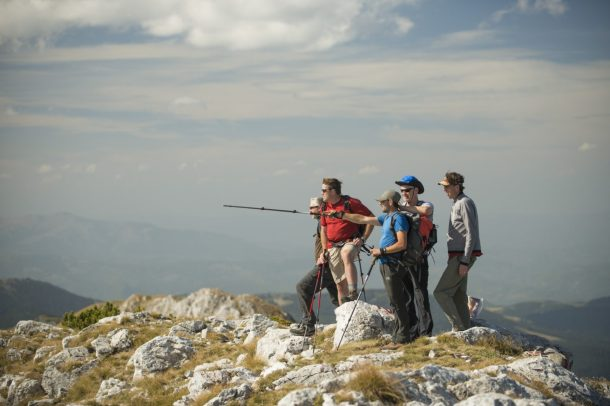 Hiking through the Balkans with Locals.