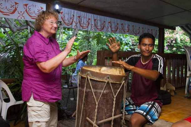 Sail through Polynesia, making new friends and learning new things along the way