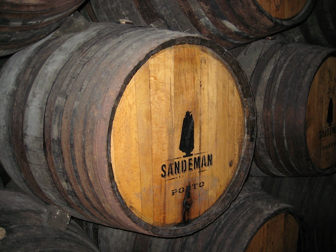 port wine casks