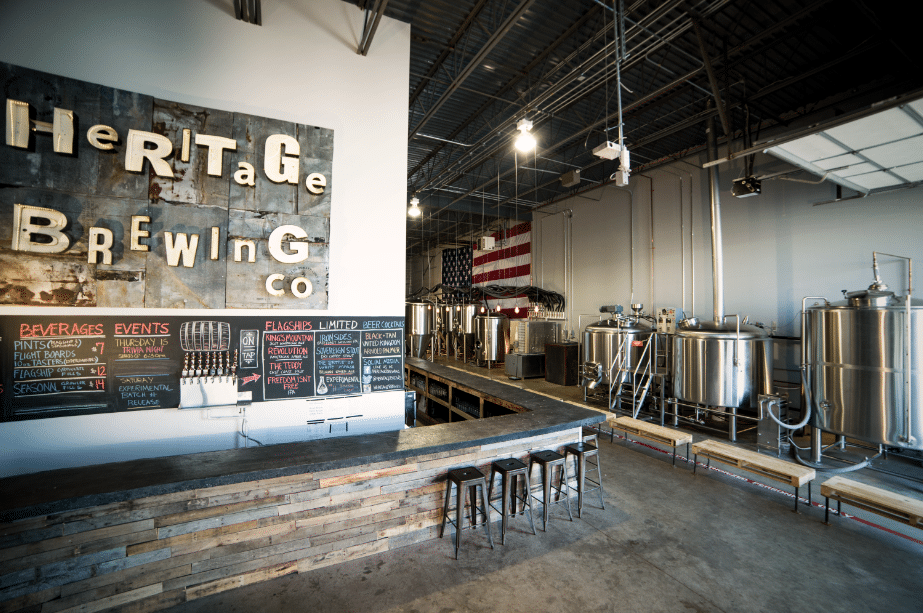 Photo courtesy of Heritage Brewing Co.