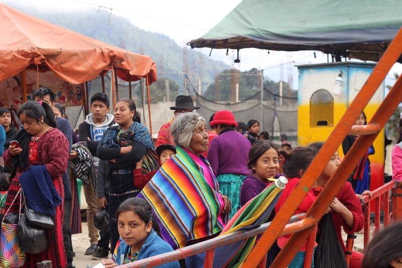 Local Maya fair at Lake Atitlan, Guatemala