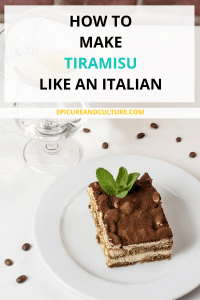 How to make tiramisu like an Italian
