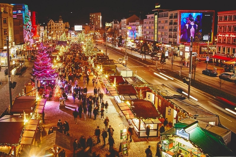 St Pauli Christmas Market (Hamburg, Germany)