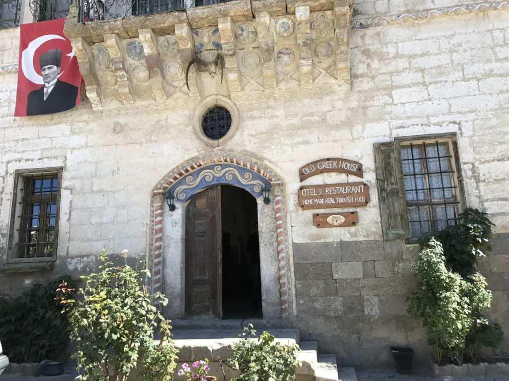 Old Greek House Restaurant food in Turkey