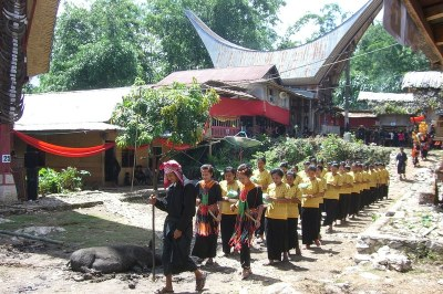 Toraja death rituals