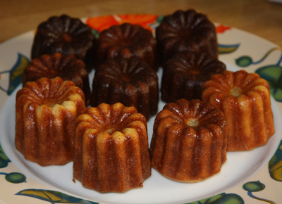 Cannelés rhum vanille Thierry Marx