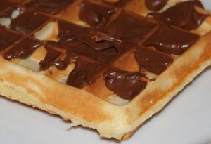 Gaufres Nutella