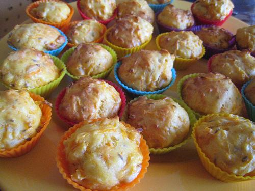 Muffins carotte cumin