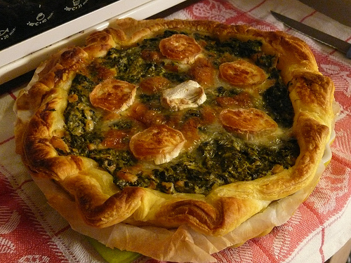 tarte-saumon-epinards-et-chevre