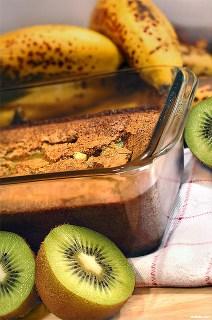 gateau-a-la-banane-et-aux-kiwis