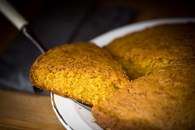 Gâteau au potiron et aux épices