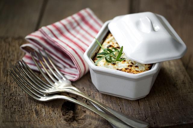 Gratin de quinoa aux petits légumes et chèvre frais | Photo | F.Hamel - Une recette des Cercles Culinaires de France | www.epicuriendusud.com