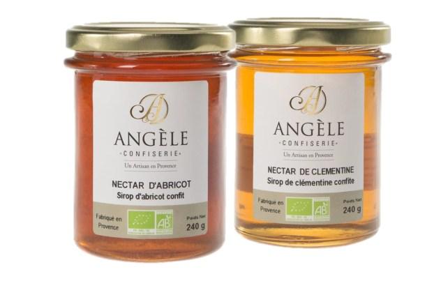 NECTAR D'ABRICOT ET DE CLÉMENTINE | ANGELE CONFISERIE | www.epicuriendusud.com