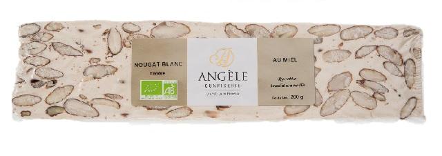NOUGAT BLANC TENDRE | ANGELE CONFISERIE | www.epicuriendusud.com