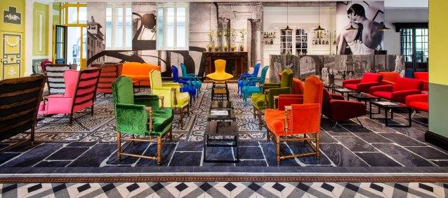 Hôtel Jules César Arles MGallery Collection***** | Salon | Photo Philippe Praliaud