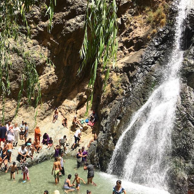 Vallée de L'Ourika - Première cascade - www.epicuriendusud.com