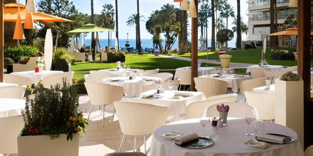Le Grand Hôtel Cannes *****   Terrasse