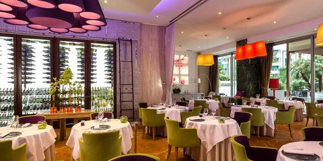 Le Grand Hôtel Cannes *****   Restaurant Park 45