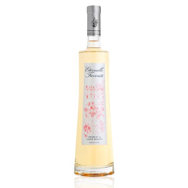Château de Saint-Martin・Cuvée Eternelle Favorite・Côtes de Provence・Rosé 2017 - www.epicuriendusud.com