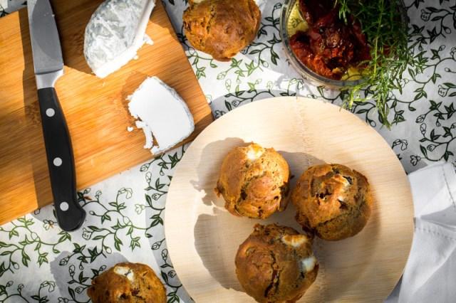 Muffins aux saveurs du sud - Photo| F.Hamel –Une recette desCercles Culinaires de France