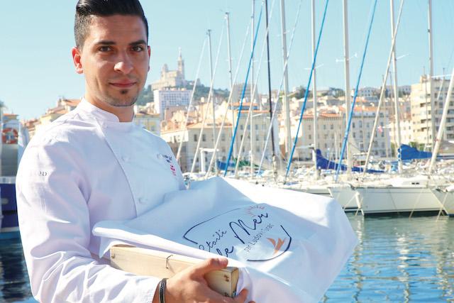 Le chef étoilé Ludovic Turac en mode Picnic méditerranéen