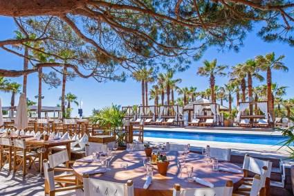 Nikki Beach Saint-Tropez・Terrasse・Artman Agency