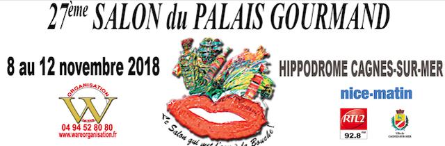 27ème salon du Palais Gourmand・Cagnes-sur-mer (06) - www.epicuriendusud.com