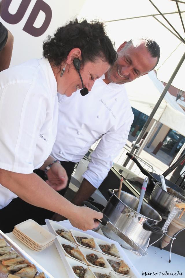 Les Cuisines du Sud. 13, 14, 15 septembre 2019. Hermance Joplet & Jean-François Bérard. Photo : Marie Tabacchi