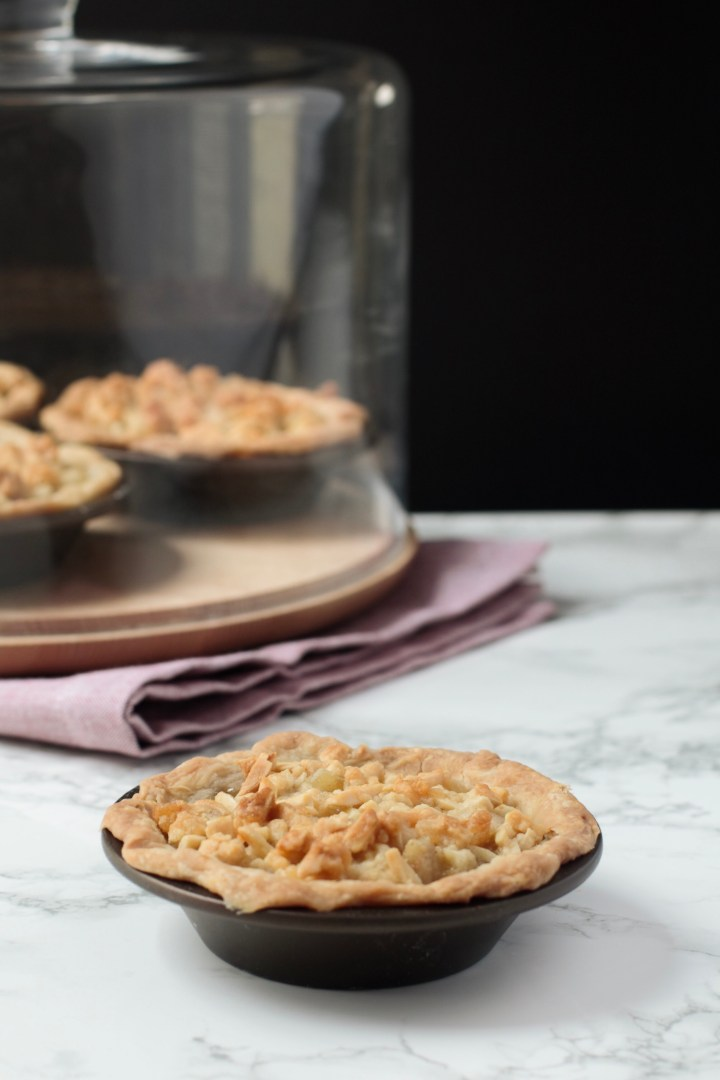 Asian Pear Pie(s) + Coconut, Ginger, and Almond