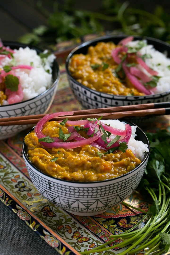 Butternut Squash & Lentil Curry