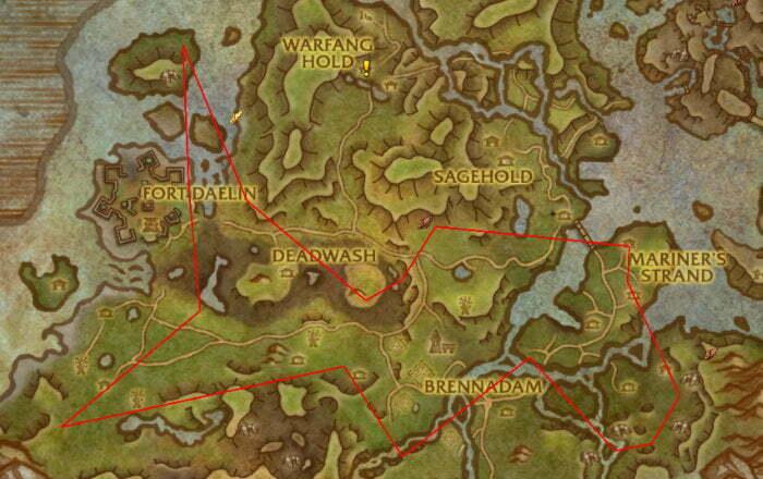 Platinum Ore Farm Route 1 - Stormsong Valley