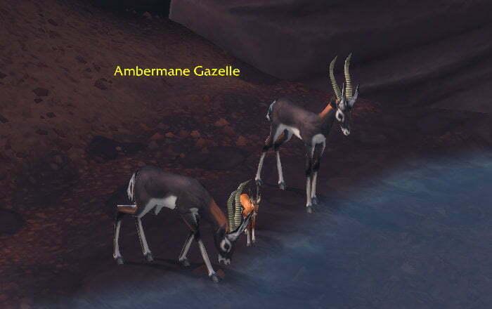 Tempest Hide Farm Spot 1 - Vol'dun - Ambermane