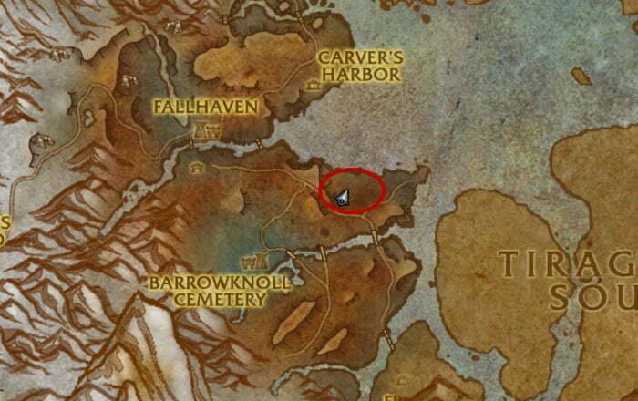 Tempest Hide Farm Spot 3 - Drustvar