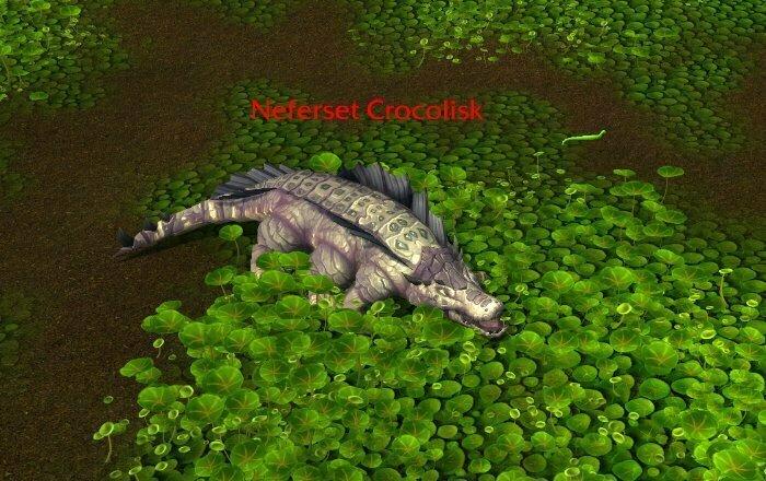 Cragscale Farm Spot 2 - Uldum - Neferset Crocolisk