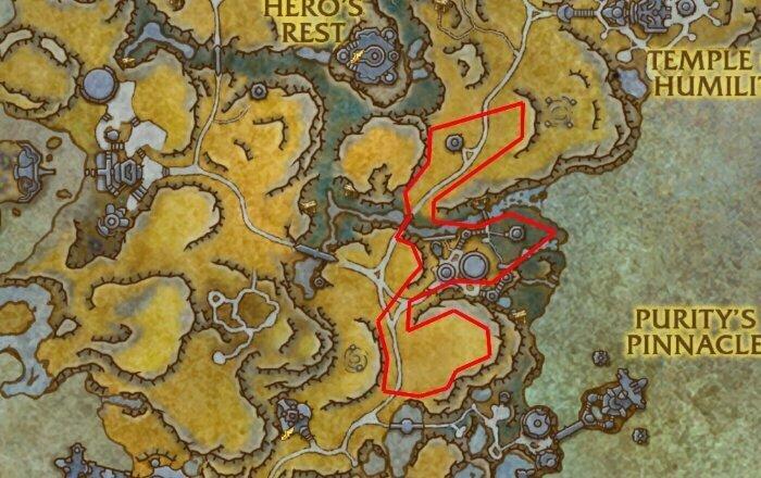 Laestrite Ore Farm Route 1 - Bastion