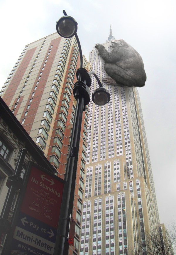 King Kong On Empire State Building