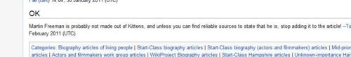 Day 62: Wikipedia = Truth (A Fangirl Graphic) (2/3)