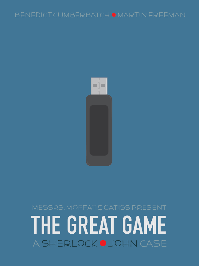Days 201-203: SHERLOCK Poster Series (3/3)