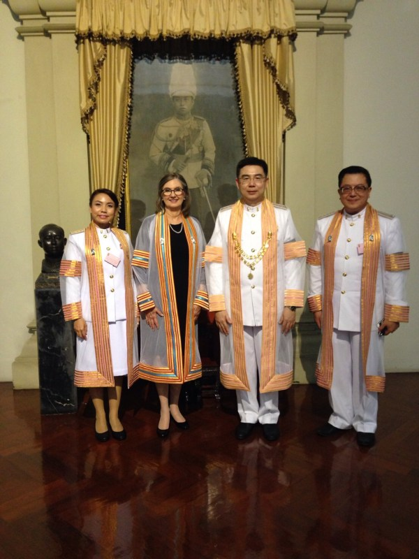 Cottler Receives Honorary Doctoral Degree Thailand