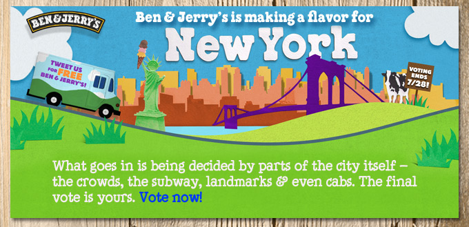 Ben & Jerry's City Churned in New York City