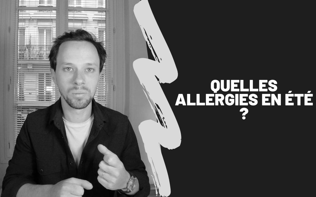 Quelles Allergies En Été ?