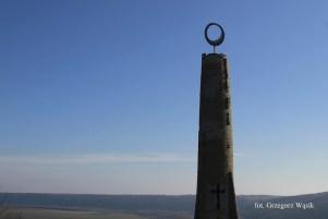 monument w kształcie świecy - Soroki