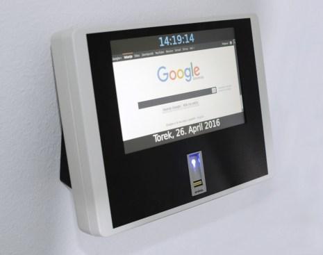 Brskanje po spletu na TIK terminalu